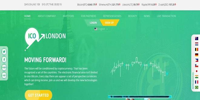 ico-london.com — отзывы и обзор проекта с доходностью до 7% в сутки