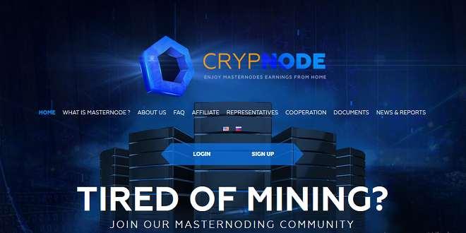 Crypnode — Обзор и отзывы о проекте с доходностью до 150% — crypnode.io